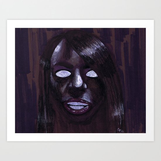 """Angelic Haze"" by Cap Blackard Art Print"
