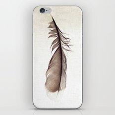 Feather Photograph: Ephemeral iPhone Skin