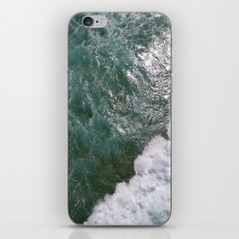Surf Photography, Beach Wall Art Print, Ocean Water Surfing, Coast iPhone Skin