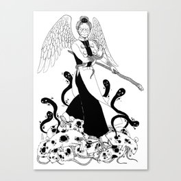 Squeak Plague Nurse Canvas Print