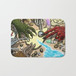 Ouija Monster! Bath Mat