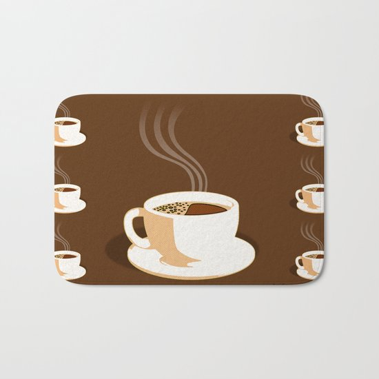 The Perfect Cup Of Coffee Bath Mat