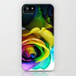 Rainbow Roses 19 iPhone Case