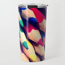 Colour Pencils Travel Mug