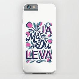 Ja Må Du Leva iPhone Case