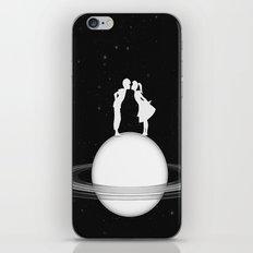 Love on Saturn iPhone & iPod Skin