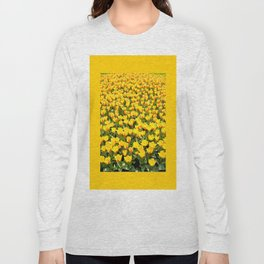 Plenty red and yellow Stresa tulips Long Sleeve T-shirt