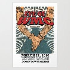 Subdrive Miami Showcase WMC 2010 Poster Art Print
