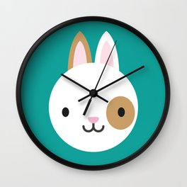 Ronny the Rabbit Wall Clock