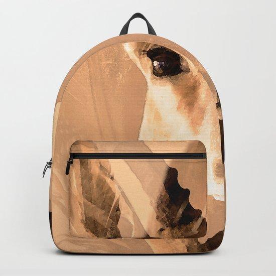 Beautiful and fast - Impala portrait Backpack