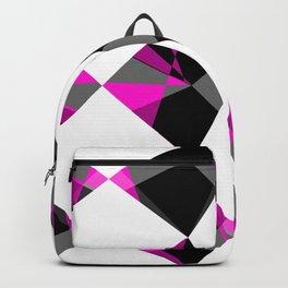 Gemstones Geometric Pink Backpack