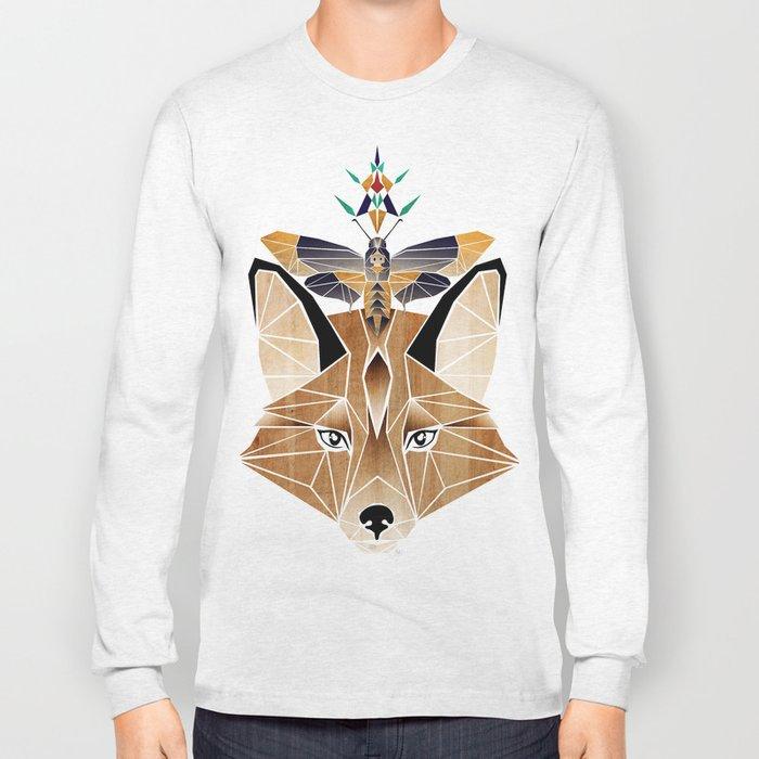 fox butterfly Long Sleeve T-shirt