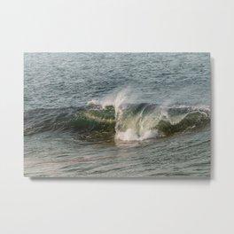 Wave at Bearskinneck Metal Print
