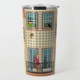 Porto Houses - Portugal Travel Mug