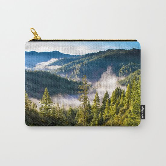 Smoke on the Mountains Carry-All Pouch