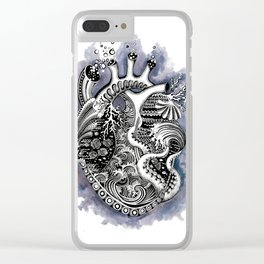 The Heart of the Sea Clear iPhone Case