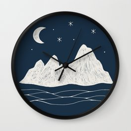 sonoran night Wall Clock