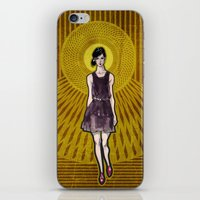 dress iPhone & iPod Skins featuring Dress by Filip Postolache