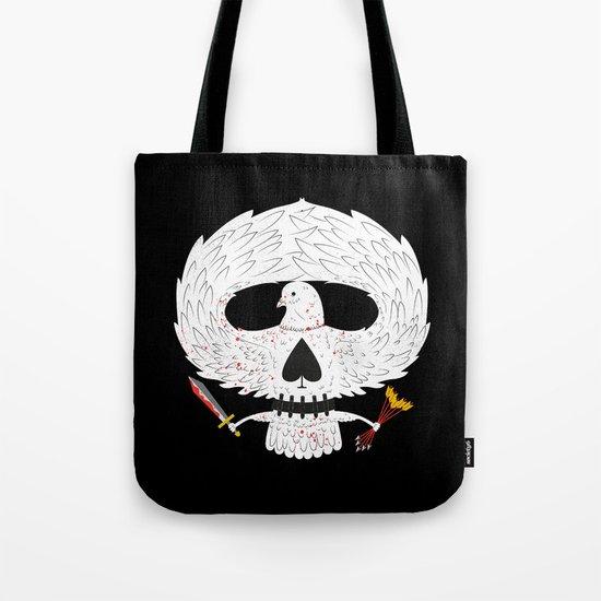 Dove of Death Tote Bag