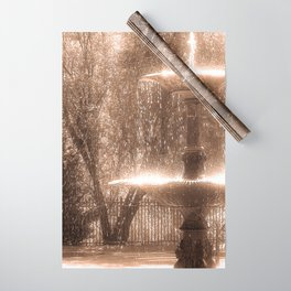 Fountain Wrapping Paper