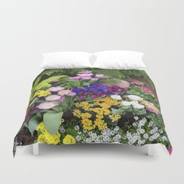 Floral Spectacular - Spring Flower Show Duvet Cover