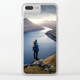 Epic Faroe Islands Clear iPhone Case