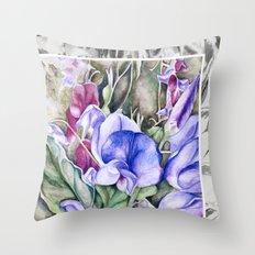 Lathyrus 6 Throw Pillow