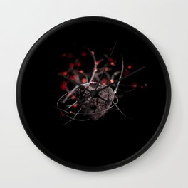 Heart and lights Wall Clock