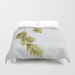 simple sea  oats Duvet Cover