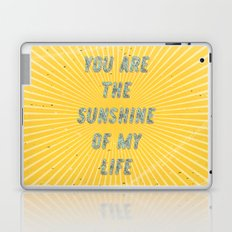 You are the Sunshine of my Life Laptop & iPad Skin