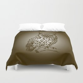 Great Owl Duvet Cover
