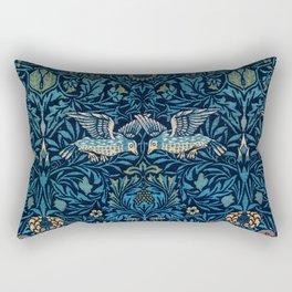 Birds by William Morris (1834-1896) Rectangular Pillow