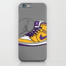 Jordan 1 mid (LA Lakers) iPhone 6 Slim Case