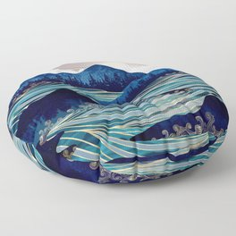 Ocean Sunrise Floor Pillow