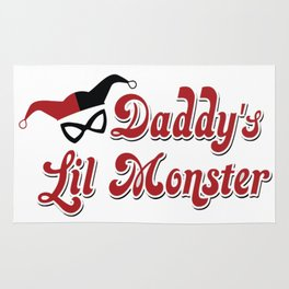 Harley quiin daddy lil monster Rug