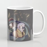 metal gear solid Mugs featuring Metal Gear Solid by Kurodoj