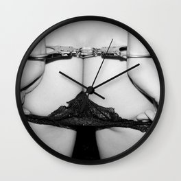 Alma the Slave Wall Clock