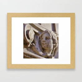 His Muse Framed Art Print