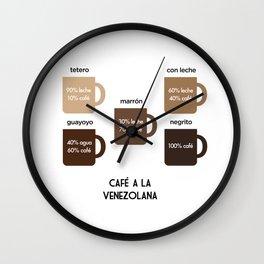 Café a la Venezolana Wall Clock