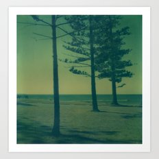 Port Macquarie Polaroid Art Print