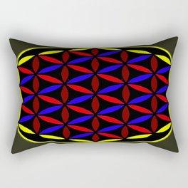 FLOWER OF LIFE Rectangular Pillow