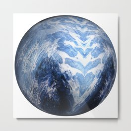 Globe07 Metal Print