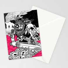 The Taxidermist Stationery Cards
