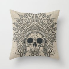 The Dead Chief Throw Pillow