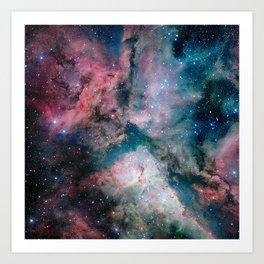 Carina Nebula - The Spectacular Star-forming Art Print