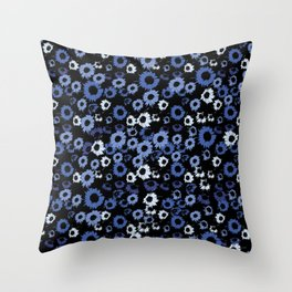 Untitled-6 (flowers) Throw Pillow