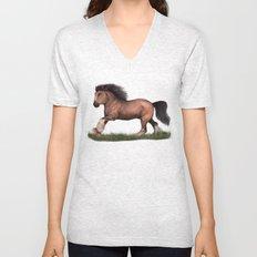 Gypsy Vanner Horse Unisex V-Neck