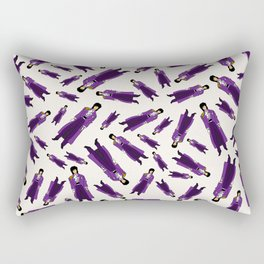 Purple Dove 1 Rectangular Pillow