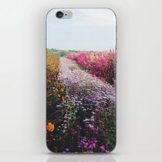 field of flowers  iPhone & iPod Skin