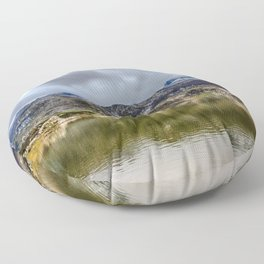 Lakes of Covadonga Floor Pillow